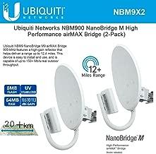 Ubiquiti NanoBridge M9 2-PACK 900MHz NBM9 AirMax NBM900 Complete Antenna/Radio