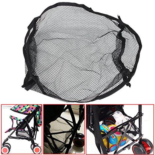 Bazaar Universal Black unter Speichernetzbeutel Buggy Kinderwagen Kinderwagen Korb Einkaufs Baby Artikel Kinderwagen Taschen