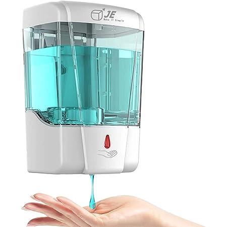 Lorenlli Dispenser di sapone automatico a induzione in acciaio inox per cucina e bagno