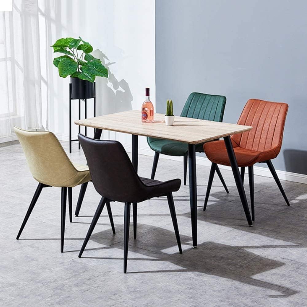 YZJL Tabouret de Bar Salle à Manger Cuisine Simple Chaise en Cuir Chaises Dressing de Cuisine Bureau Salon Salon Chaise Chambre Chaise Haute (Color : Blue) Black