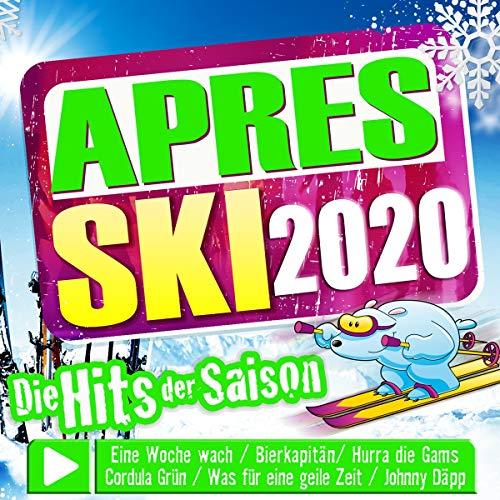 Aprés Ski 2020; Die Hits der Saison;incl. Hurra die Gams; Bierkapitän; Cordula Grün; Eine Woche wach; Johnny Däpp; Kopfmassage; Mama Laudaaa; Vanessa; Was für eine geile Zeit; Bella Chao