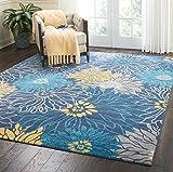 Nourison Passion Area Rug, 8'x10', Blue