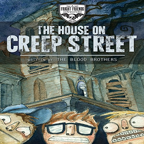 The House on Creep Street audiobook cover art