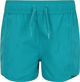 Pantalones Cortos Panama para niñas - Pantalones Ligeros de Playa - Cordón Ajustable - Cintura elástica - Ajustables - Ideales para Las Vacaciones