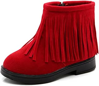 Best toddler girl red fringe boots Reviews