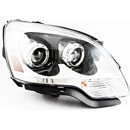 Amazon Com For Gmc Acadia Headlight 2008 2009 2010 2011 2012 Passenger Right Side Headlamp Assembly Replacement Automotive