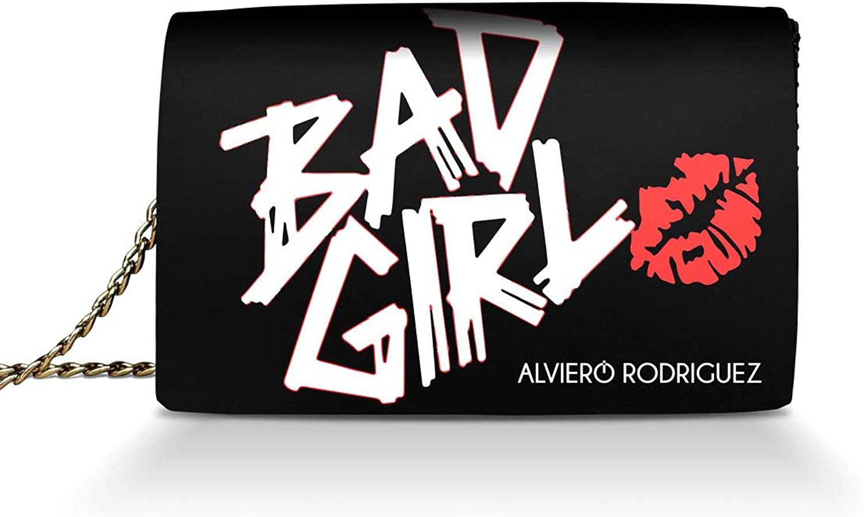 Alviero Rodriguez Rodriguez Rodriguez , Damen Umhängetasche Schwarz Schwarz 24x7x17 cm B07BJ6YTCB  Geschwindigkeitsrückerstattung 63d27f