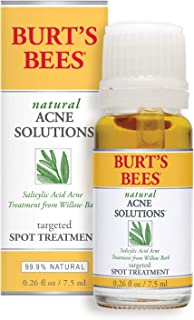 Sponsored Ad - Burt's Bees Natural Acne Solutions Targeted and Minimizing Spot Treatment for Oily Skin, 0.26 Oz (Package M...