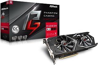Asrock Phantom GXR RX580 8G OC Radeon RX 580 8GB GDDR5 - Tarjeta gráfica (Radeon RX 580, 8 GB, GDDR5, 256 bit, 7680 x 4320 Pixeles, PCI Express x16 3.0)