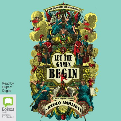 Let the Games Begin audiobook cover art