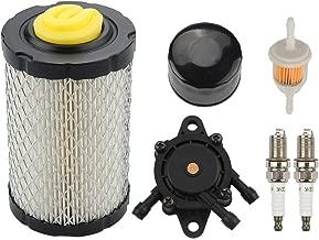 Mckin MIU14395 Air Filter + AM125424 Oil Filter + LG808656 Fuel Pump Maintenance Kit fits John Deere D100 D110 D130 D140 D160 D170 D105 D120 Z225 Z235 LA115 LA105 LA145 E130 E100 E120 Mower