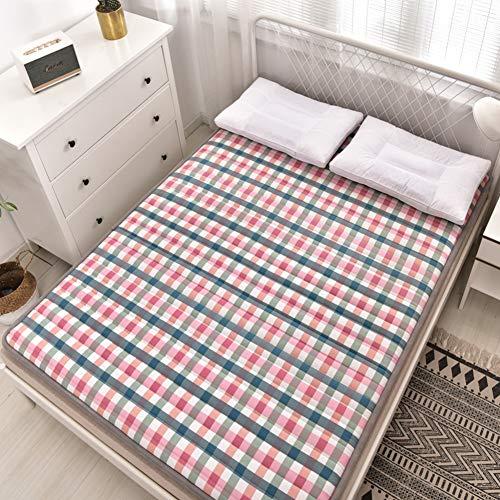 Futon Mattress,Japanese Floor Mattress Anti-slip Folding Tatami Floor Mat Portable Camping Mattress Kids Sleeping Pad Living Room Dormitory