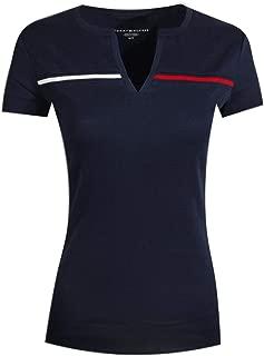 Women's Split-Neck T-Shirt