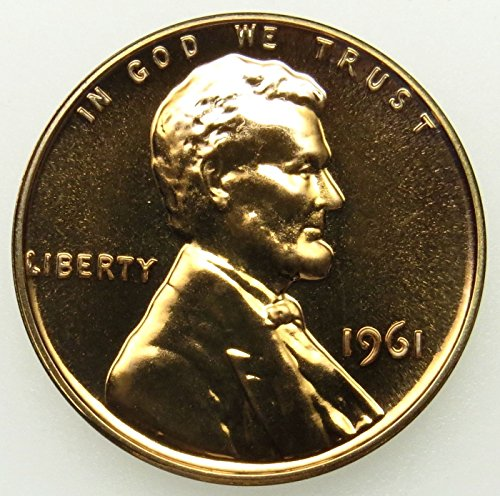 1961 Gem Proof Lincoln Memorial Cent Penny Proof US Mint