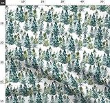 Bäume, Wasserfarben, Wald, Zelten, Weihnachten, Sommer,