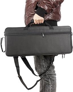 Bolsa de Trompeta,Trompeta Gig Bag 600D Case Box Oxford Tela Resistente al Agua Mochila con Ajustable Doble Hombro Correa de Bolsillo de Espuma de algodón Acolchado
