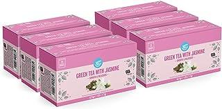 Marca Amazon - Happy Belly Bolsitas de té verde con jazmín (150 bolsitas)