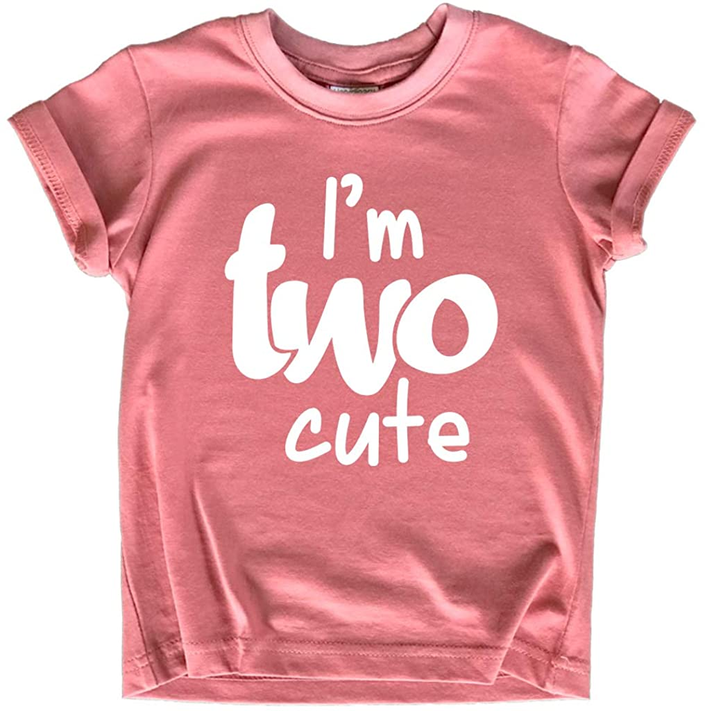2nd Birthday Outfits for Toddler Girls im Two Cute Shirt Girl 2 Year olds Second