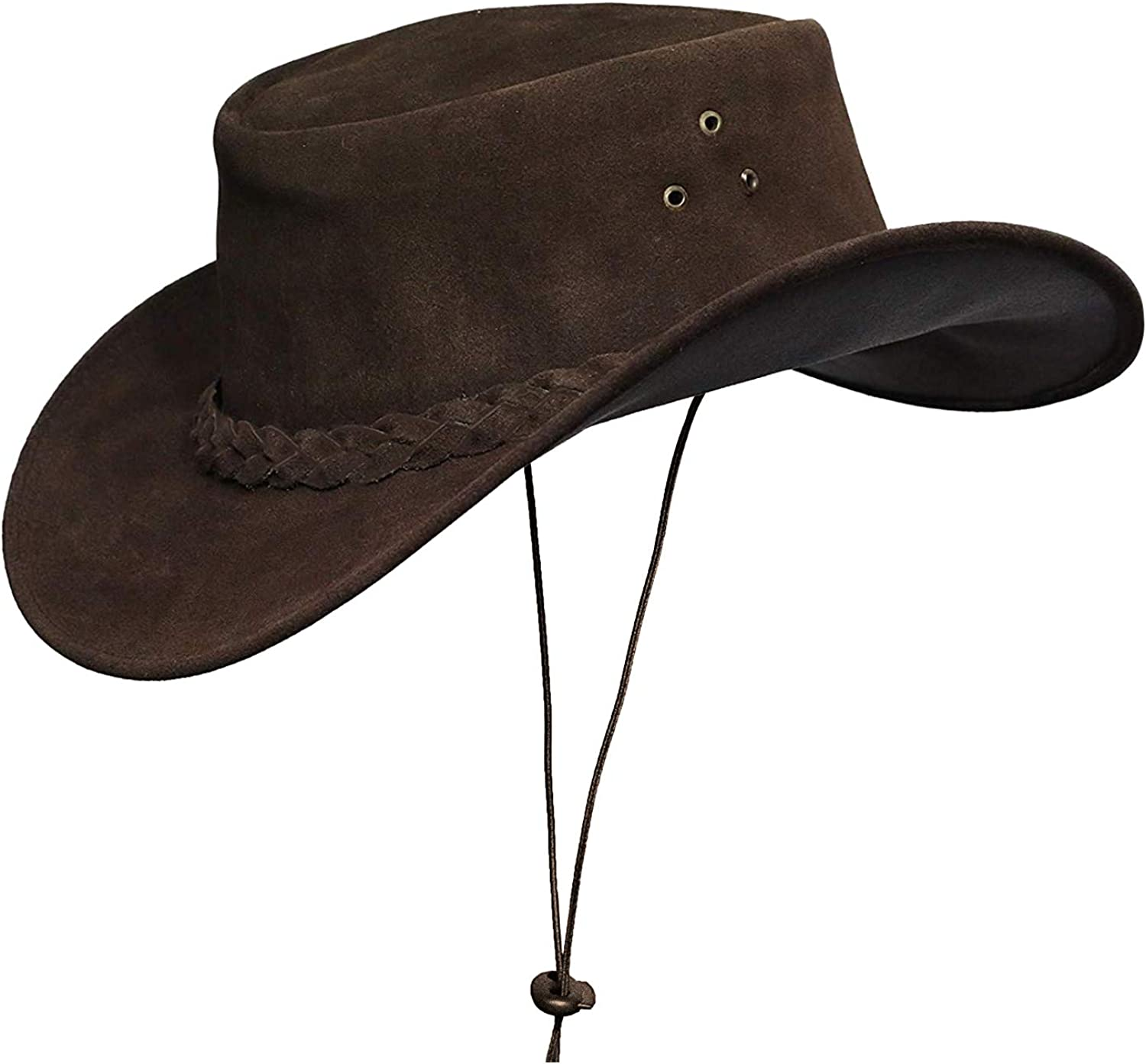 Cowboy hat for shopping Men and Cheap mail order specialty store Women Leather Outback Suede Western Outdo