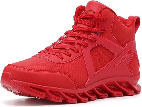 BRONAX Mode Gym Chaussures pour Hommes 6 Couleurs Taille 39-48 EU