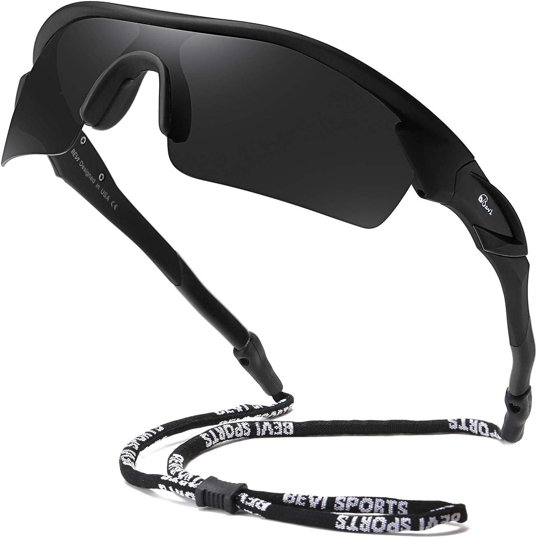 Bevi Polarized Sports Sunglasses TR90 for Unbreakable Men 70% OFF Outlet Excellent Frame