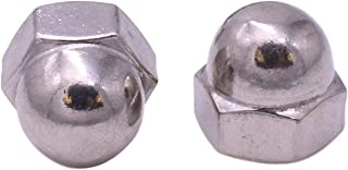 50 Qty 3//8-16 Stainless Steel Acorn Hex Cap Nuts BCP759