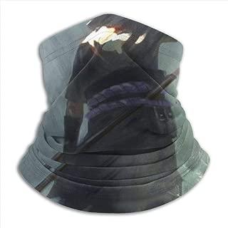 Balaclava Headband Naruto-Sasuke Uchiha Scarf Bandana,Muffler,Neck Gaiter,Magic,Hatliner Sweatband Black