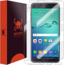 Skinomi Full Body Skin Protector Compatible with Samsung Galaxy C7 Pro (Screen Protector + Back Cover) TechSkin Full Cover...