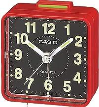 Casio TQ-140-4DF Alarm Clock, Red