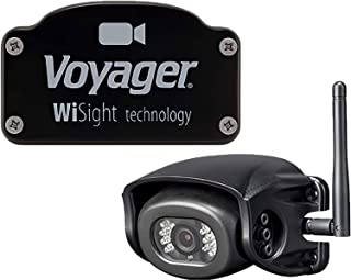Voyager WVH100 Digital Wireless WiSight RV BackUp Observation Camera with Built-In Microphone for Pre-Wired Vehicles
