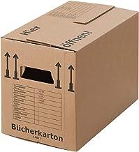 BB Verpakking x Professionele Boekendozen Pack van 15 Sterke Dubbele Muur Kartonnen Dozen – Verwijdering Boek Vervoer Kart...