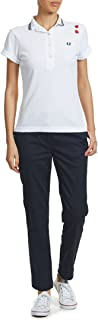 Fred Perry Polos For Women, White 8 UK, Size 8 UK (19601/36/Bianco-WHTE)