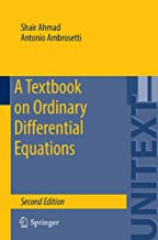 A Textbook on Ordinary Differential Equations (UNITEXT 88)