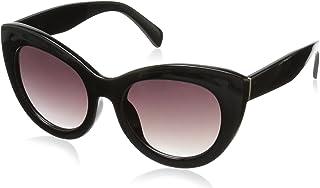 Foster Grant Women's Jet Set 2 10232836.COM Cateye Sunglasses