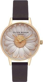 Olivia Burton Reloj Analógico para Mujer de Cuarzo con Correa en Cuero OB15EG38