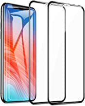 Meidom Screen Protector for iPhone 11 Pro Max/iPhone Xs Max with Soft Edge (2 Packs) Full Coverage Bubble Free and Case Friendly Tempered Glass for iPhone 11 Pro Max/iPhone Xs Max