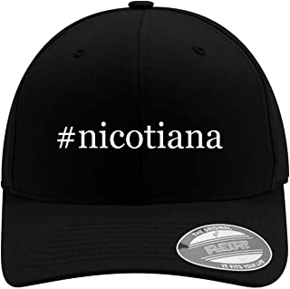 Eleven Hour Man Nicotiana - Men's Hashtag Soft & Comfortable Flexfit Baseball Hat