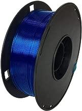NOVAMAKER 3D Printer Filament - Blue 1.75mm PETG Filament, PETG 1kg(2.2lbs), Dimensional Accuracy +/- 0.03mm