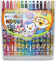 PORORO Twist-up Crayons - Pack of 14