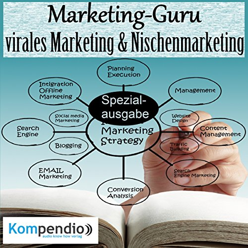 Marketing-Guru: virales Marketing & Nischenmarketing Titelbild