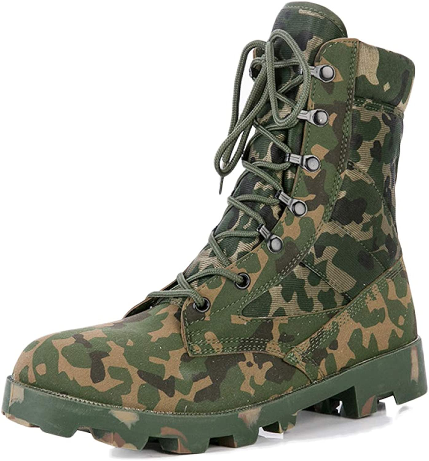 YC High Tops Desert Boots Combat Boots Outdoor Safety Tactical Boots For Men's Police Training Military Boots Riding Hiking Special shoes