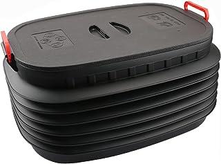 Seau à eau pliable,Seau en plastique pliable,Seau Plastique Pliable,60L,Épaissie,Pas facilement déformé,avec couvercle,cap...