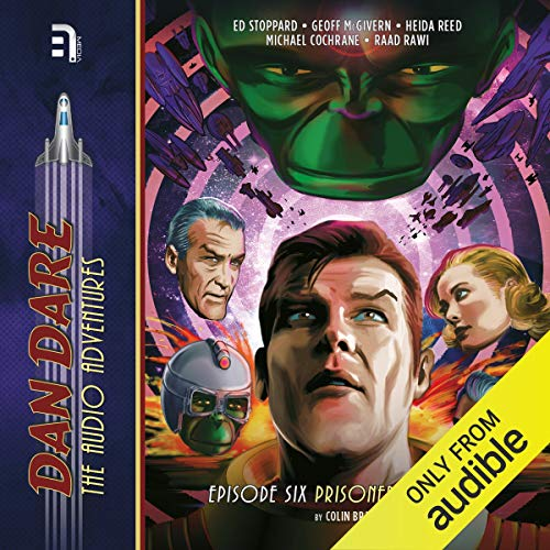 Dan Dare: Prisoners of Space cover art