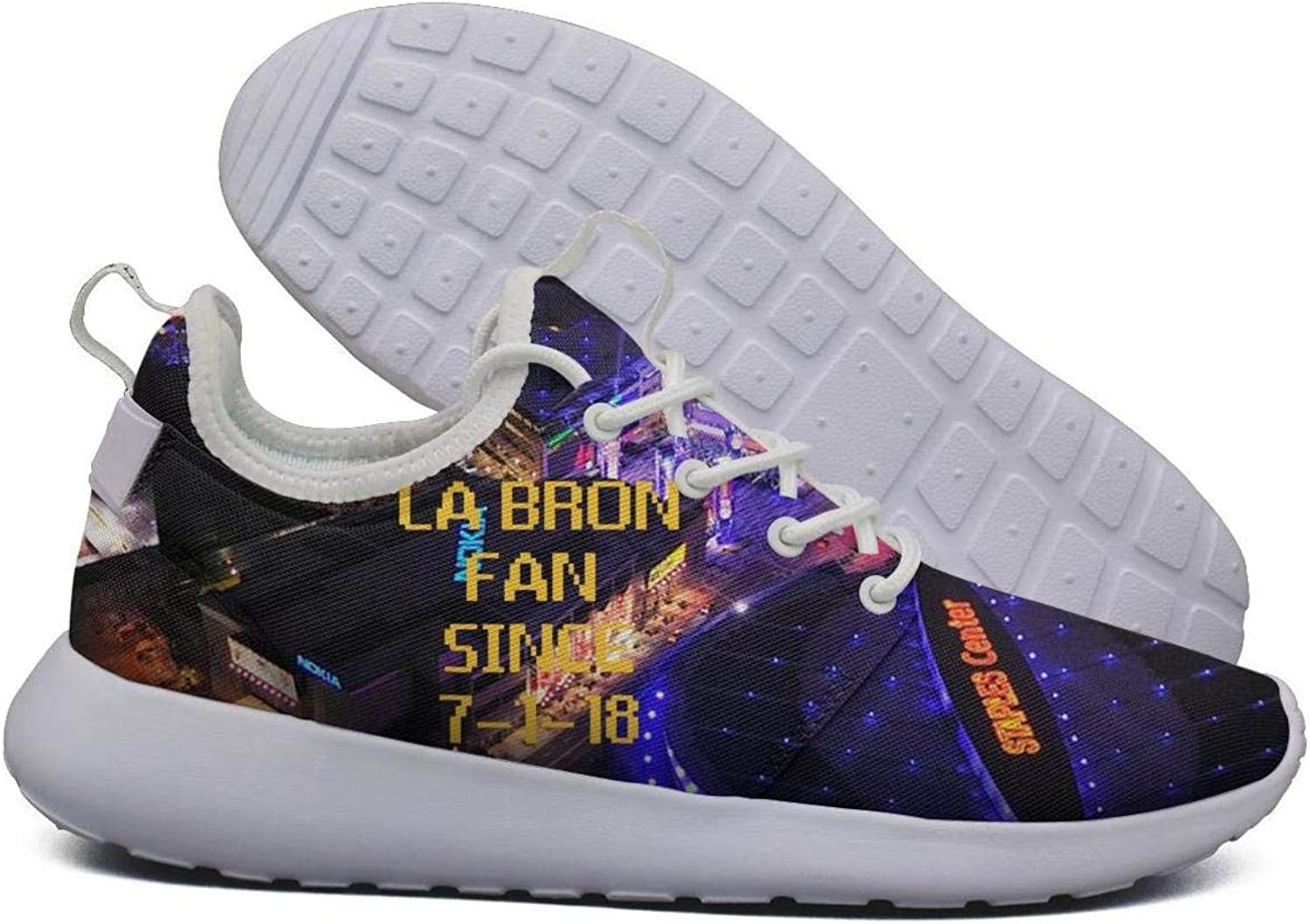 Womens Roshe Two Lightweight La_Bron_Yellow_Logo_Basketball Breathable Road Running mesh shoes