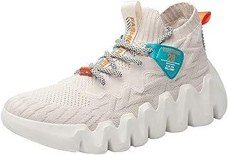 XIDISO Scarpe Moda Uomo Scarpe da Passeggio Leggere Sneakers Senza Lacci Traspiranti per Uomo Scarpe Casual da Trail Runni...