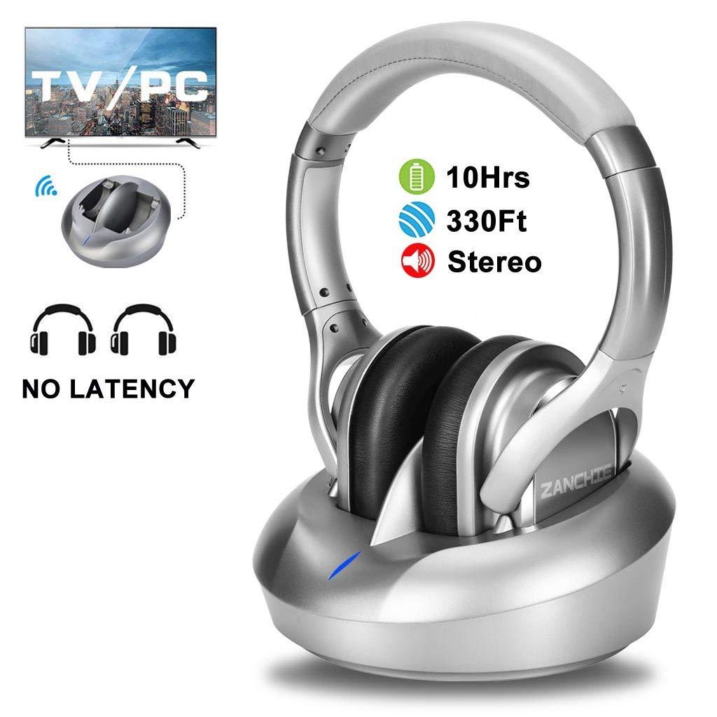 Headphones Headsets RF Transmitter Lightweight Rechargeable