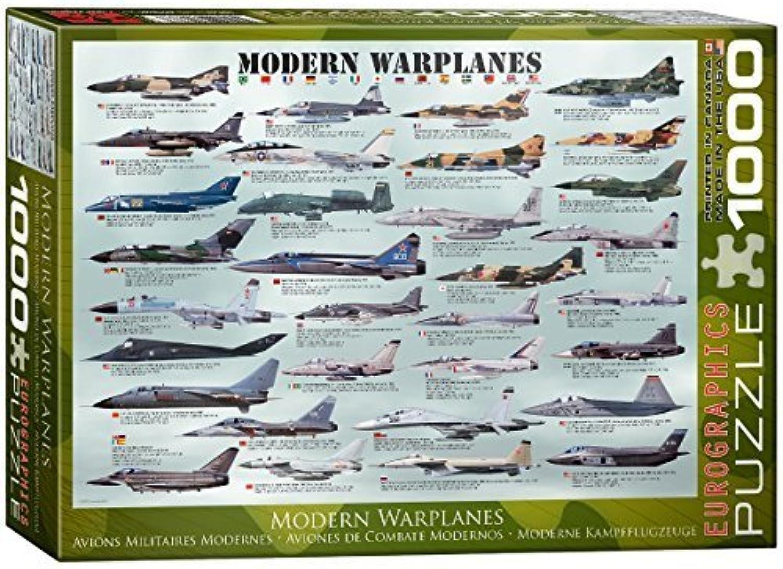 EuroGraphics Modern Warplanes Puzzle (1000-Piece) by EuroGraphics