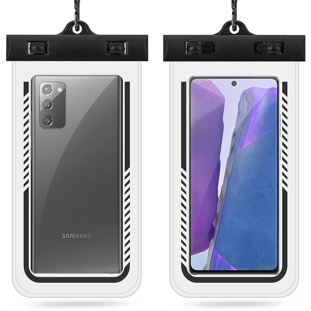 2pcs Waterproof Phone Pouch Upto 7.2