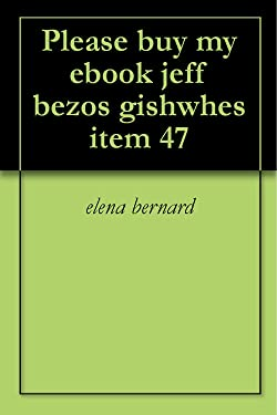 Please buy my ebook jeff bezos gishwhes item 47