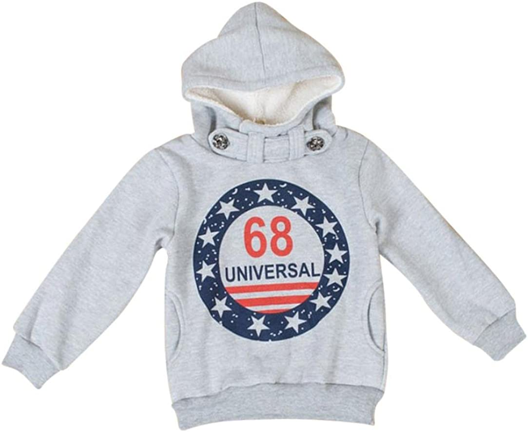 Kehen Kids Toddler 40% OFF Cheap Sale Our shop most popular Boys Hoodie W Sweatshirt Tops Winter Pullover